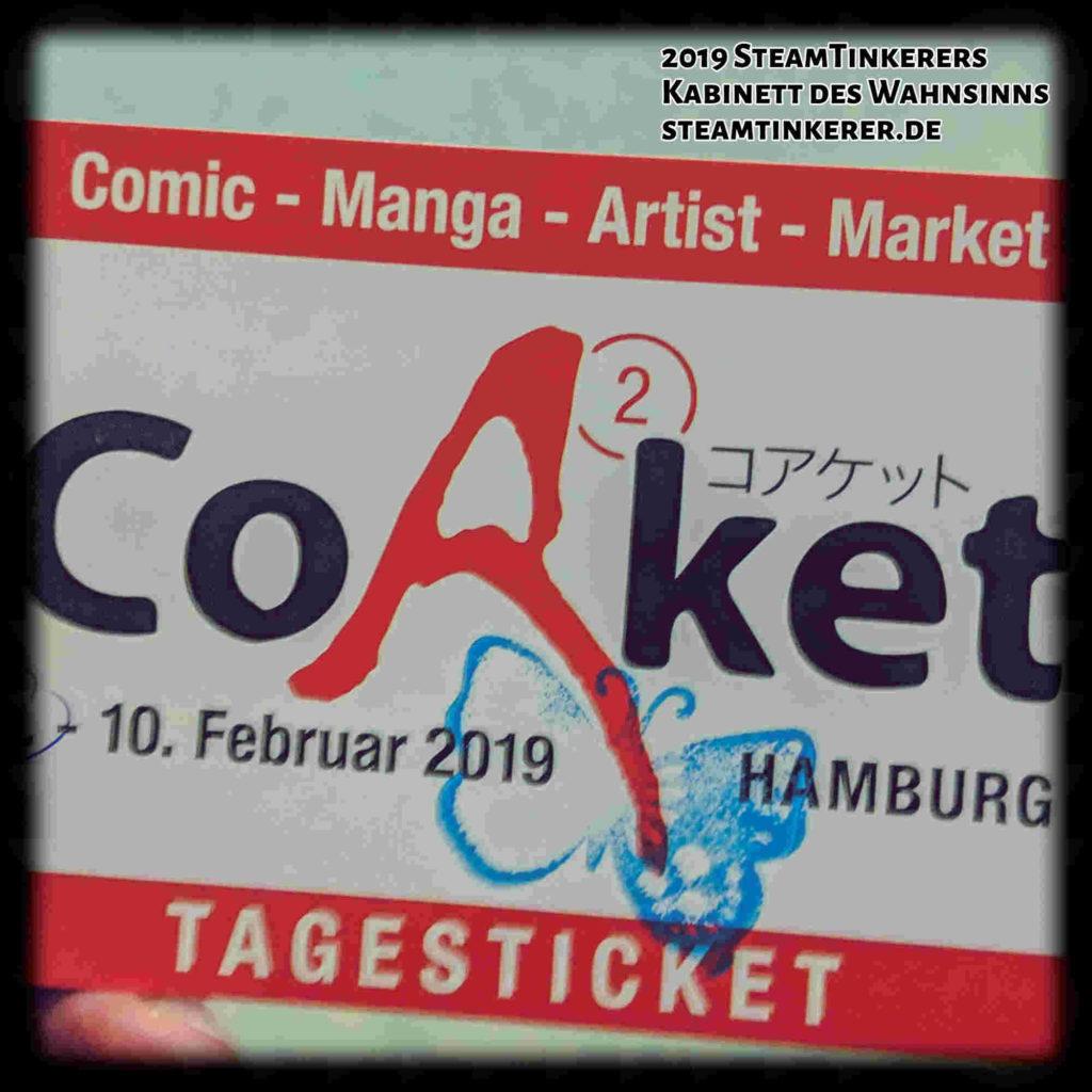 Convention:] CoAket in Hamburg - SteamTinkerers Kabinett des Wahnsinns