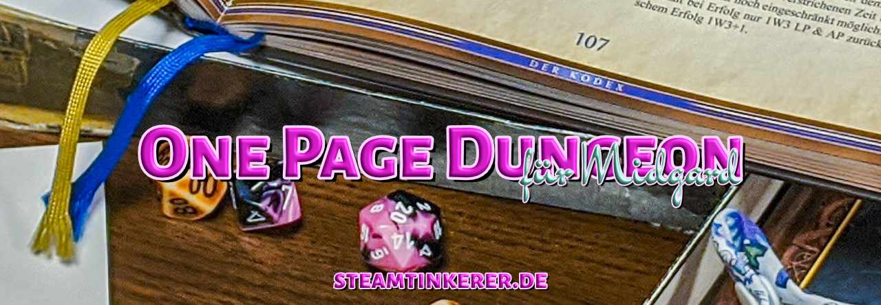 MIDGARD One Page Dungeon
