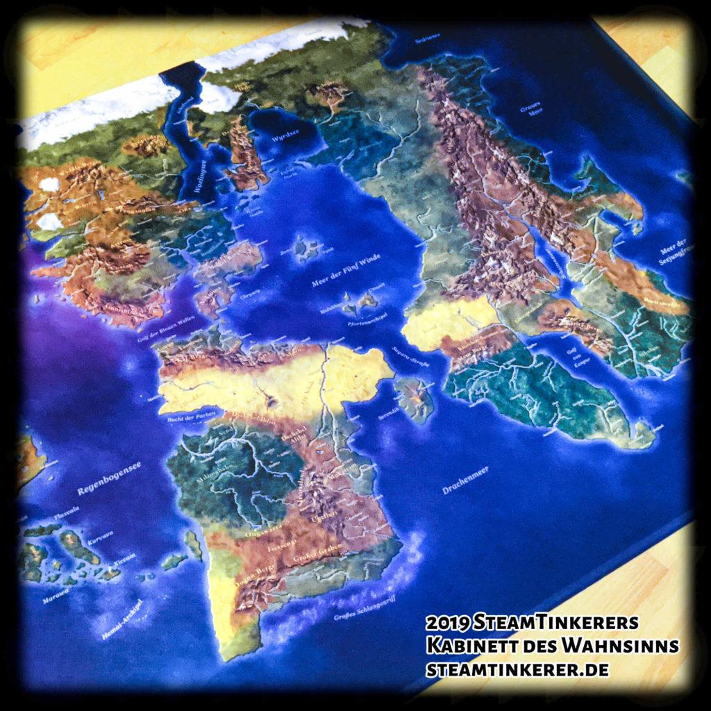 MIDGARD-Weltkarte